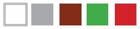 Цветовая гамма водосточных систем VERAT