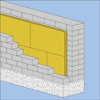 Роклайт в трехслойных стенах